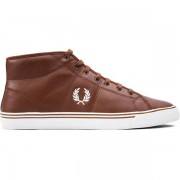 Fred Perry M HAYDON MID LEATHER