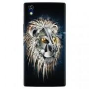 Husa silicon pentru Allview X2 Soul Style Abstract Lion 001