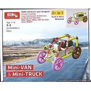 Educational toys and Building Blocks – Mini Van, Mini Truck and many more Robotics Toy for Kids/ Line Block toy making/ Brain and mind development toys/ construction toys for kids/ Creative Toy making for children/Educational Learning Toys/ Age - 7 to 12y