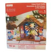Christmas 3D Activity Kit ~ Nativity Scene (162 Pieces)