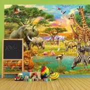 W + G Fotobehang Afrika Safari (366 x 254 cm)