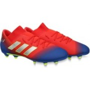 ADIDAS NEMEZIZ MESSI 18.3 FG SS 19 Football Shoes For Men(Red, Blue)