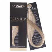 Poze Premium Keratin Extensions Ash Mix 8A/10NV - 60cm