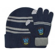 Cinereplicas Harry Potter - Ravenclaw Beanie & Gloves Set for Kids