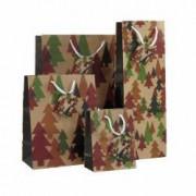Set 4 pungi cadou cu braduti Multicolor