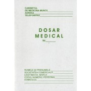 Dosar medical individual A5 carnet 8 file