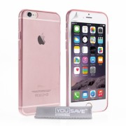 YouSave iPhone 6/6s Plus Ultra Thin Gel Case - Pink
