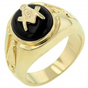 J Goodin Onyx Masonic Ring R06003G-C03