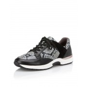 Caprice Sneaker im Materialmix, 23700 schwarz female 42