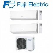 Fujifilm Climatizzatore Condizionatore Fuji Inverter Dual Split A Parete Serie Lm 7000+12000 Con Rog18l