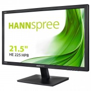 "Monitor TFT, HannsG 21.5"", HE225HPB, 6.5ms, 10Mln:1, HDMI, Speakers, FullHD"
