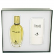 Larry Mahan Stallion Eau De Cologne Spray 1.7 oz / 50.3 mL + After Shave Balm 2 oz / 59.2 mL Gift Set Fragrance 500826