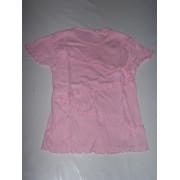 T Shirt Fille Rose 8ans