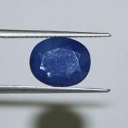Certified Ceylon Mines((sri Lanka) Natural Blue Sapphire Gemstone - 7.12 Ct