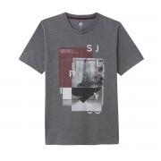 LA REDOUTE COLLECTIONS Bedrucktes T-Shirt mit Rundhalsausschnitt