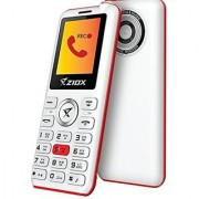 Ziox Starz Rocker Dual SIM Basic Phone (White Red)