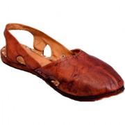 Women's Raga Leather Sandal Rajasthani Style