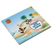 Carte amintiri pentru botez cu Mickey Mouse (Model 2)