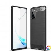 Samsung Galaxy Note 20/Note 20 5G Удароустойчив Carbon Fiber Калъф и Протектор