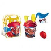 Set plaja Spiderman Mondo pentru copii cu ghiozdanel, jucarii plaja si galetusa