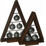 Set bradut lemn - Silver