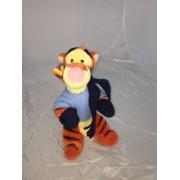 Disney Winnie The Pooh - Tigro Peluche Vestito Invernale 25cm