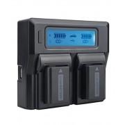 Digital Power Incarcator dual LCD pentru acumulator Sony NP FW50