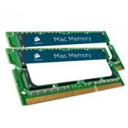 Corsair Pamięć SODIMM DDR3 Corsair Mac Memory 8GB (2x4GB) 1066MHz CL7 1,5V