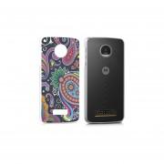 Funda Para Celular Motorola Moto Z Play - Paisley Colores