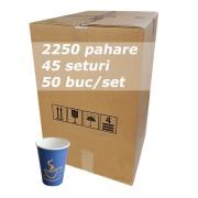Pahar carton 7oz Blue SBP bax 2250buc