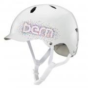 Bern Kask Bern Bandita gloss white confetti logo