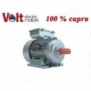 Motor electric trifazat Volt Motor 0.75 KW Turatii 1500 RPM 100% cupru