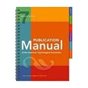 Vv.aa. Publication Manual Of The American Psychological Association 7th