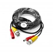 Bnc + Dc Seguridad Cctv Dvr Cámara De Video Cable De Extensión De Alim