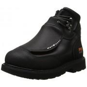 Timberland Pro Men's 40000 Met Guard 6' Steel Toe Boot,Black/Black,9.5 W