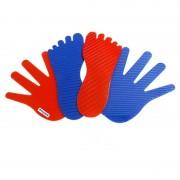 Set 8 maini si 8 picioare antialunecare Miniland