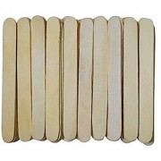 Asianhobbycrafts Colored amp Natural Wooden Ice Cream Sticks Popsicle Sticks amp Spoon 100 Pcs Pack (NICS02)