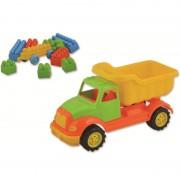 Autobasculanta Ucar Toys, 30 cm, 36 piese constructie