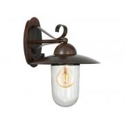 Lampa perete MILTON antique-brown 220-240V,50/60Hz IP44
