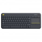 Logitech Wireless Keyboard K400 Plus Android TV Dark