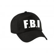 Bellatio Decorations Zwarte FBI politie agent verkleed pet / cap voor volwassenen
