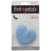 Foot Petals Women's Tip Toes Ball of Foot Cushion Insole, Blue, Medium/One Size M US