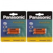 Panasonic 4xAAA Ni-MH Rechargeable Battery 1.2V 830mAh HHR-3MRT/2BM For Cordless Toys Remote etc