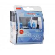 Powertec Super White H3 12V халогенни крушки к-т