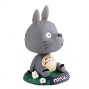 ELECTROPRIME My Neighbor Totoro Bobble Head Dancing Totoro Model Toy Car Decor Ornament