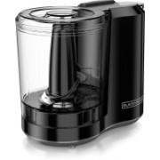 Black & Decker FreshPrep 3-Cup Electric Food Chopper Black HC300B 500 W Food Processor(Black)