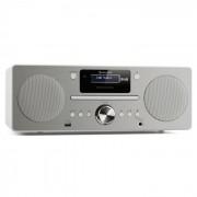 Harvard Micro - Sistema HarvardDAB/DAB + FM sintonizzatore FM lettore CD/USB bianco