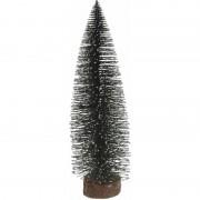 Merkloos Miniatuur kerstboompje groen 35 cm
