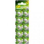 Gp Batteries Blister 10 Batterie Alcaline Specialistiche a Bottone LR43