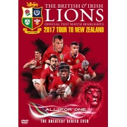 British and Irish Lions: Official Test Match Highlights - 2017 Tour to New Zealand (Parallel Import - DVD)